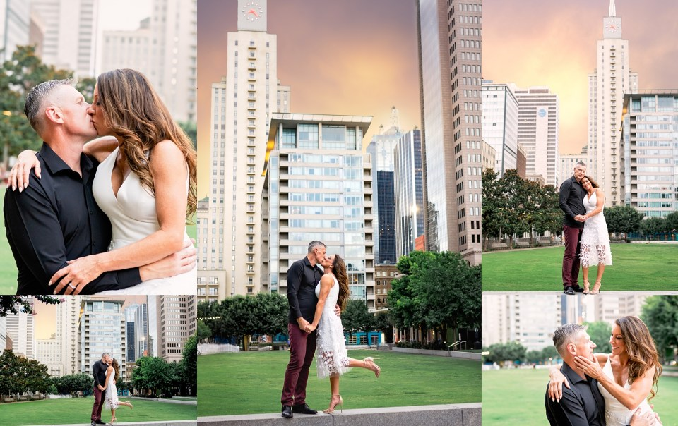 dallas engagement session, klyde warren park engagement session, happy hour, att discovery district, the statler hotel, the joule hotel, klyde warren park engagement photos, City Engagement Session, DFW Wedding Photographer, DFW Engagement Photographer, Dallas Engagement Photography, Downtown Dallas Photos