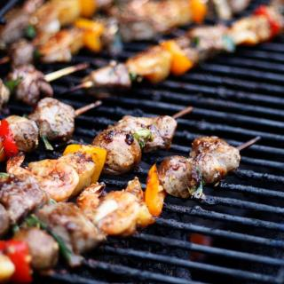 Surf and Turf Kebabs