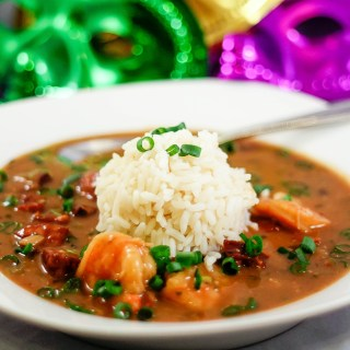 Cajun Style Shrimp and Sausage Gumbo