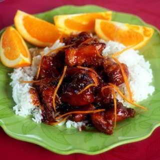 Orange Peel Chicken