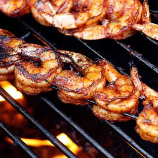 BBQ Grilled Shrimp