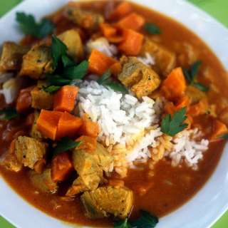 Thai Curry with Fish and Sweet Potatoes