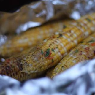 Grilled Fresh Corn on the Cob