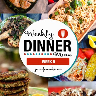 Weekly Dinner Menu: Week 5