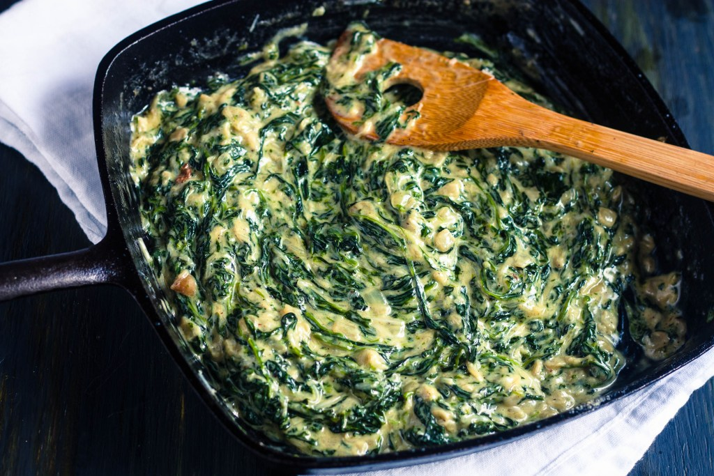 Creamed Spinach | Jennifer Cooks