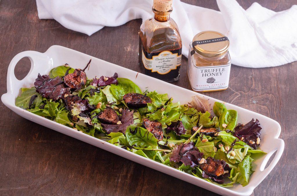 Balsamic Grilled Fig Salad | Jennifer Cooks