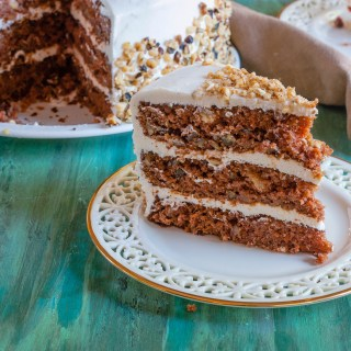 Mom's Carrot Cake #SundaySupper