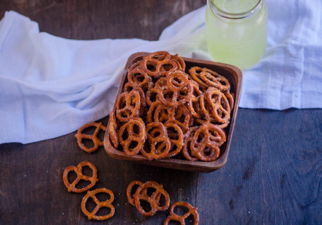 Spicy Pretzels | Jennifer Cooks