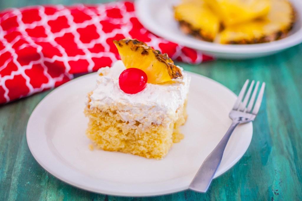 Pina Colada Cake | Jennifer Cooks