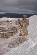 Salt Statue of Jesus