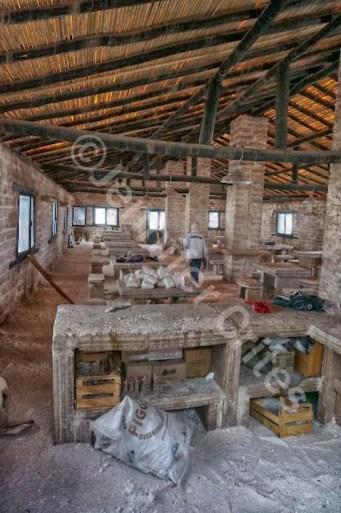 Workstations Made of Salt Bricks