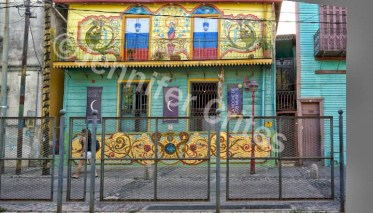 Colorful Building in Caminito