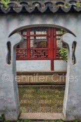 One of many creative archways