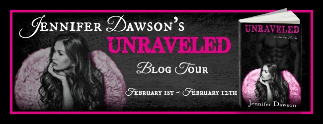 Unraveled Blog Tour Banner