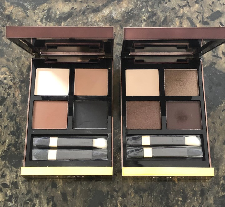 New Tom Ford Eye Shadow Quads: Mink Mirage and Noir Fume Review and Swatches