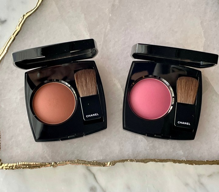 New Chanel Joues Contraste Blushes Rose Ruben and Brun Rouge Review, Swatches, and Comparisons