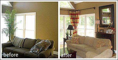 modern french country living room decor decorating ideas pictures before and after pictures!