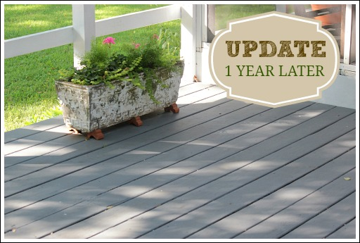 Painting a deck for Behr deckover