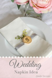 Wedding Napkin Ideas