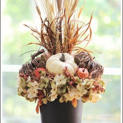 Living Room Arrangements For Small Spaces Arrange Ideas Autumn Flower Arrangement You Can Make Under $25 ...