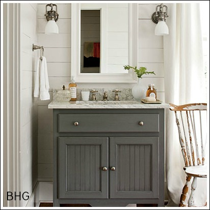 Bathroom decorating ideas to help you create your own - How to decorate a bathroom counter ...