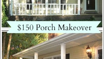 Porch Decorating Ideas On A Budget - Front porch makeover ideas