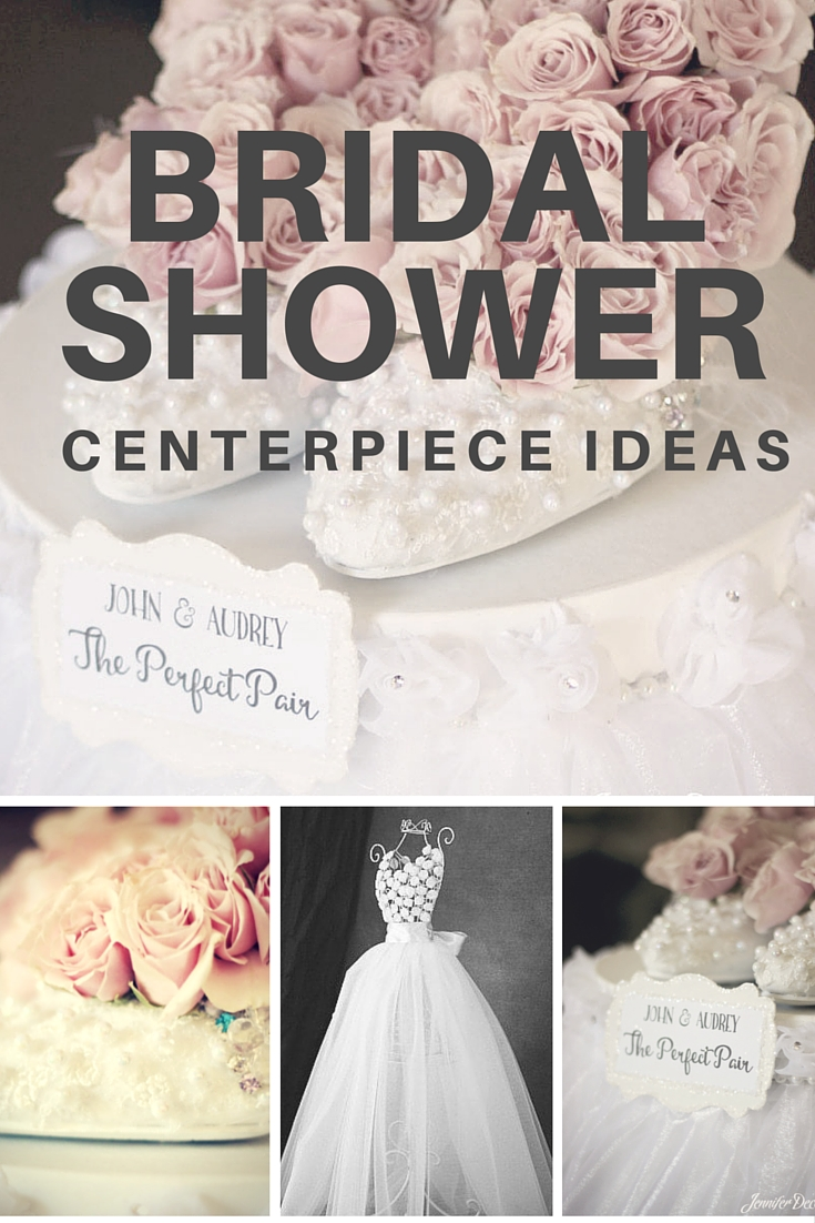 two beautiful bridal shower centerpiece ideas