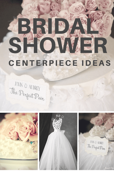 Bridal Shower centerpiece ideas!