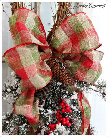 Christmas Bow - Learn to make a bow like a pro!