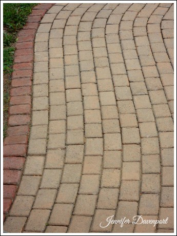 Concrete Patio Pavers Concrete Stain Ideas For An Update - Behr wet look paver sealer