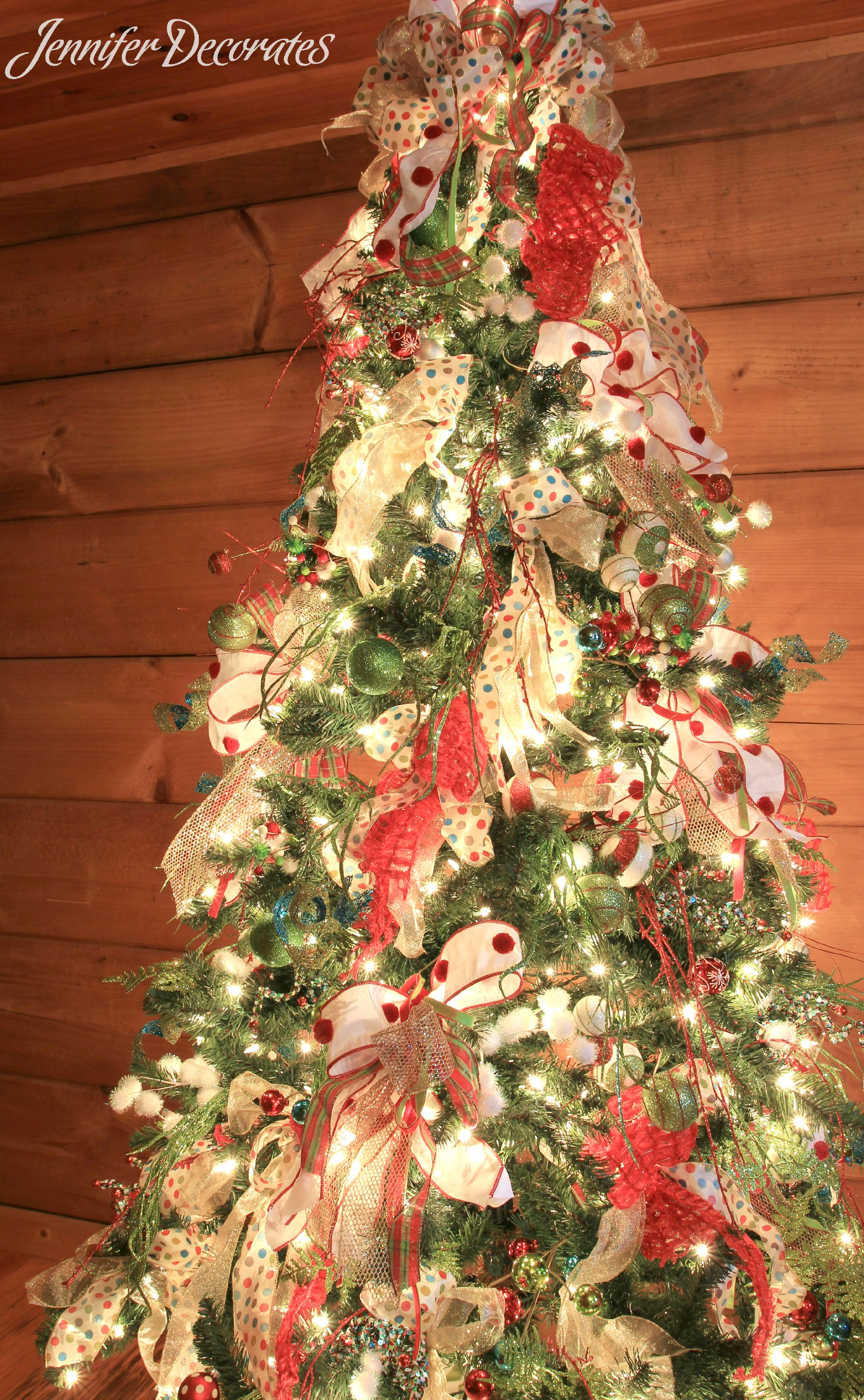 Country Christmas Decorating Ideas - Jennifer Decorates