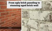 Faux Brick Wall Panels. Faux Brick Wall Tutorial This