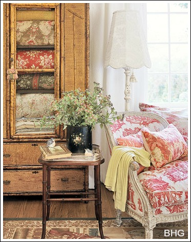 adding french country decorating to the bedroom