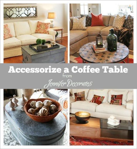 Nice How To Accessorize A Coffee Table