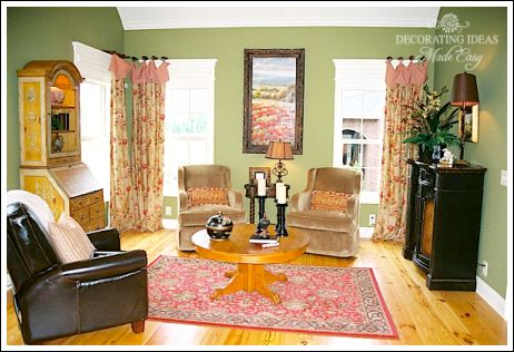 French country decor living rooms