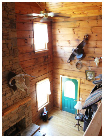 Log Home Decorating Ideas Before and After Photos