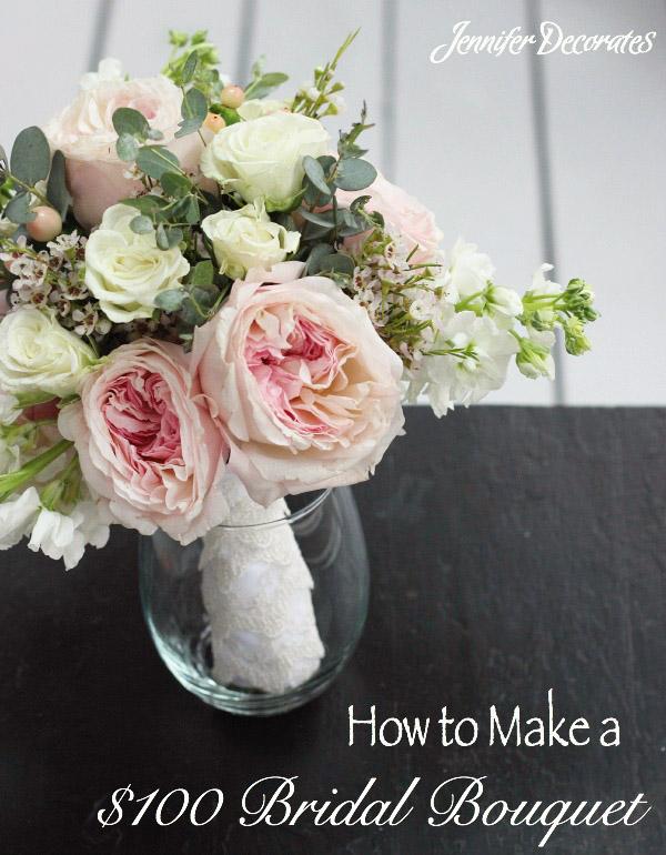 Make a Bridal Bouquet - Jennifer Decorates