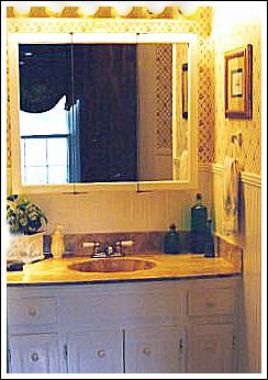 Small Bathroom Makeovers Create An Attractive And Inviting Room - Easy bathroom makeovers
