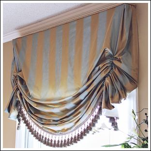 Swag Window Treatment Ideas