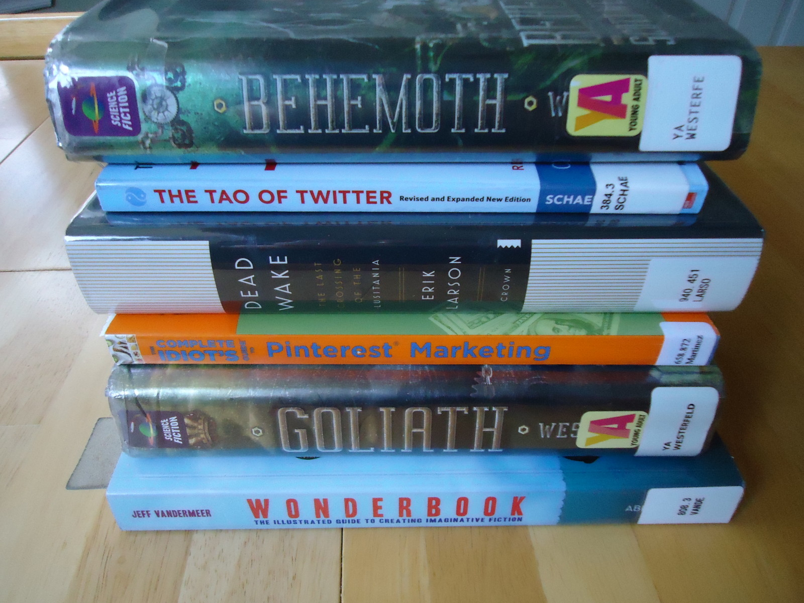 Library Stack 3/11/15