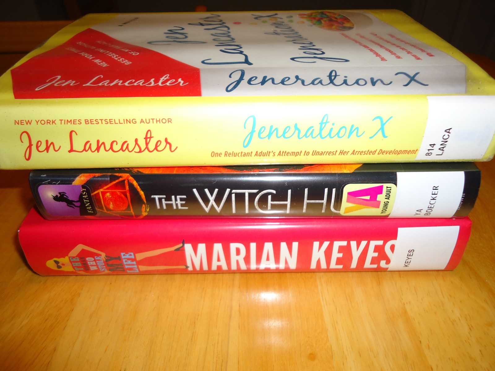 Library Haul and Reading List 7/17/15