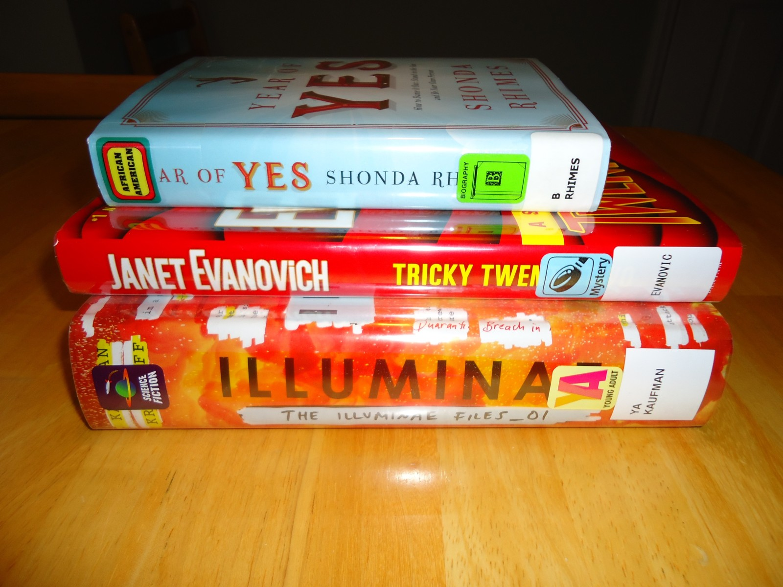 Library Haul & Reading List 12/4/15