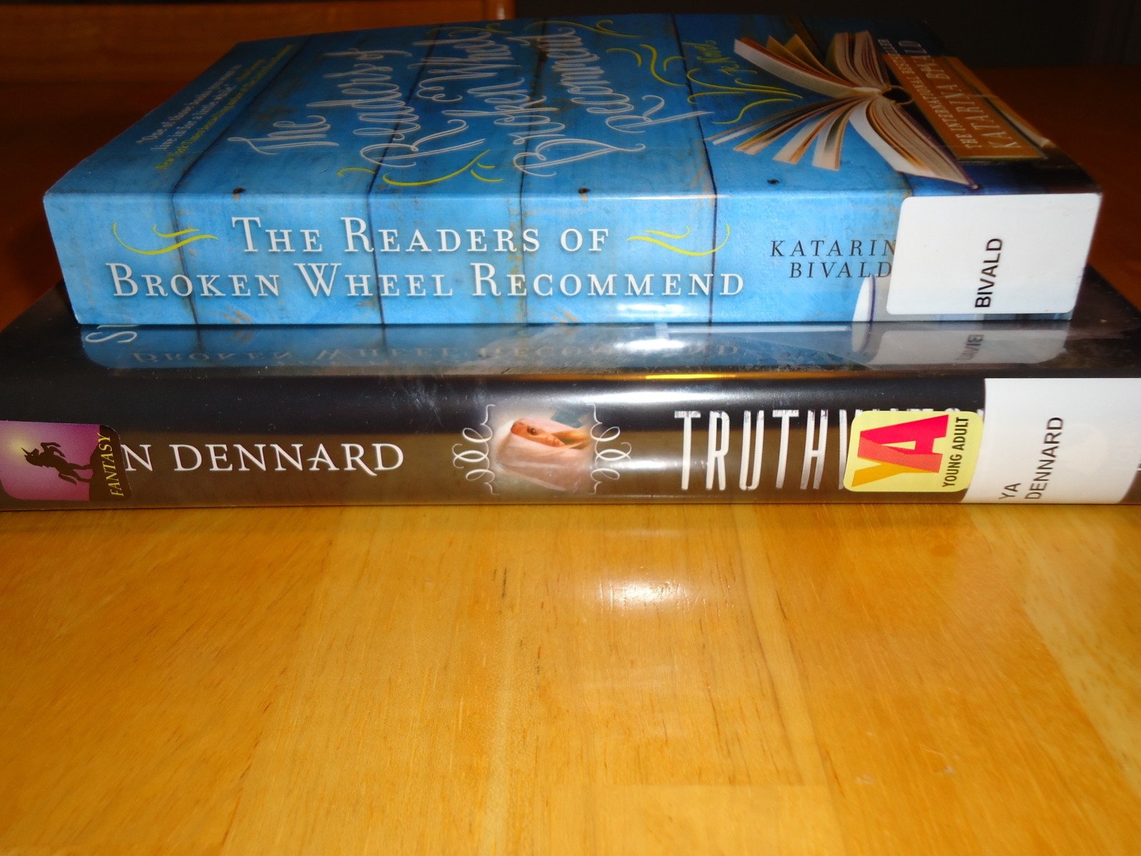 Library Haul & Reading List 01/29/16