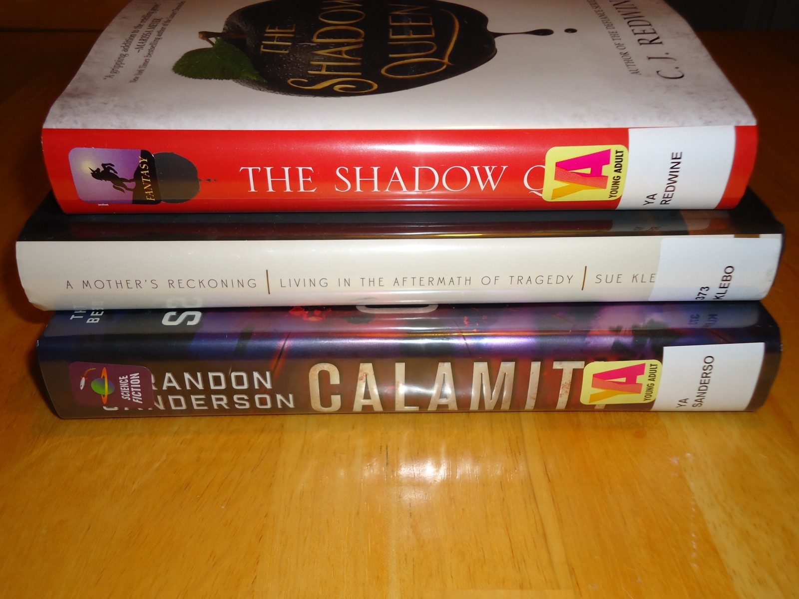 Library Haul & Reading List 03/11/15
