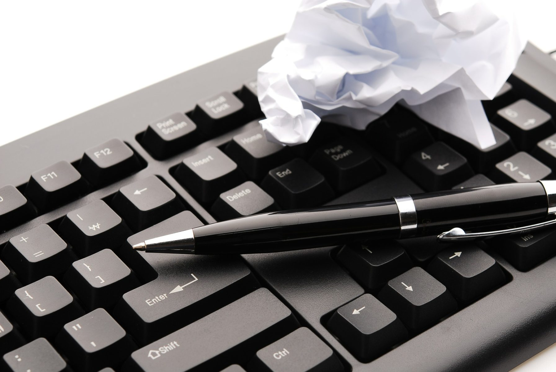 How to fail as a writer
