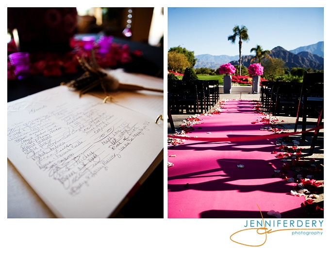La Quinta Country Club – Jimene & Bernie get married in pink