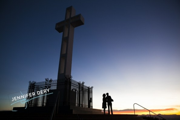 photos of a proposal at Mt Soledad sunrise sunset (11)