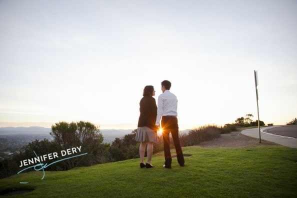 photos of a proposal at Mt Soledad sunrise sunset (5)