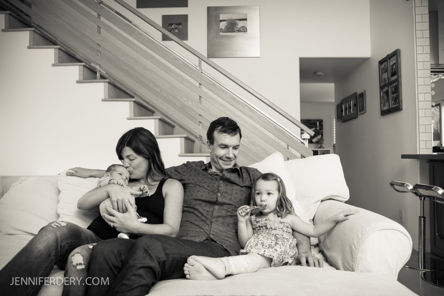 After the Wedding: Family Photography with the Lukacs'