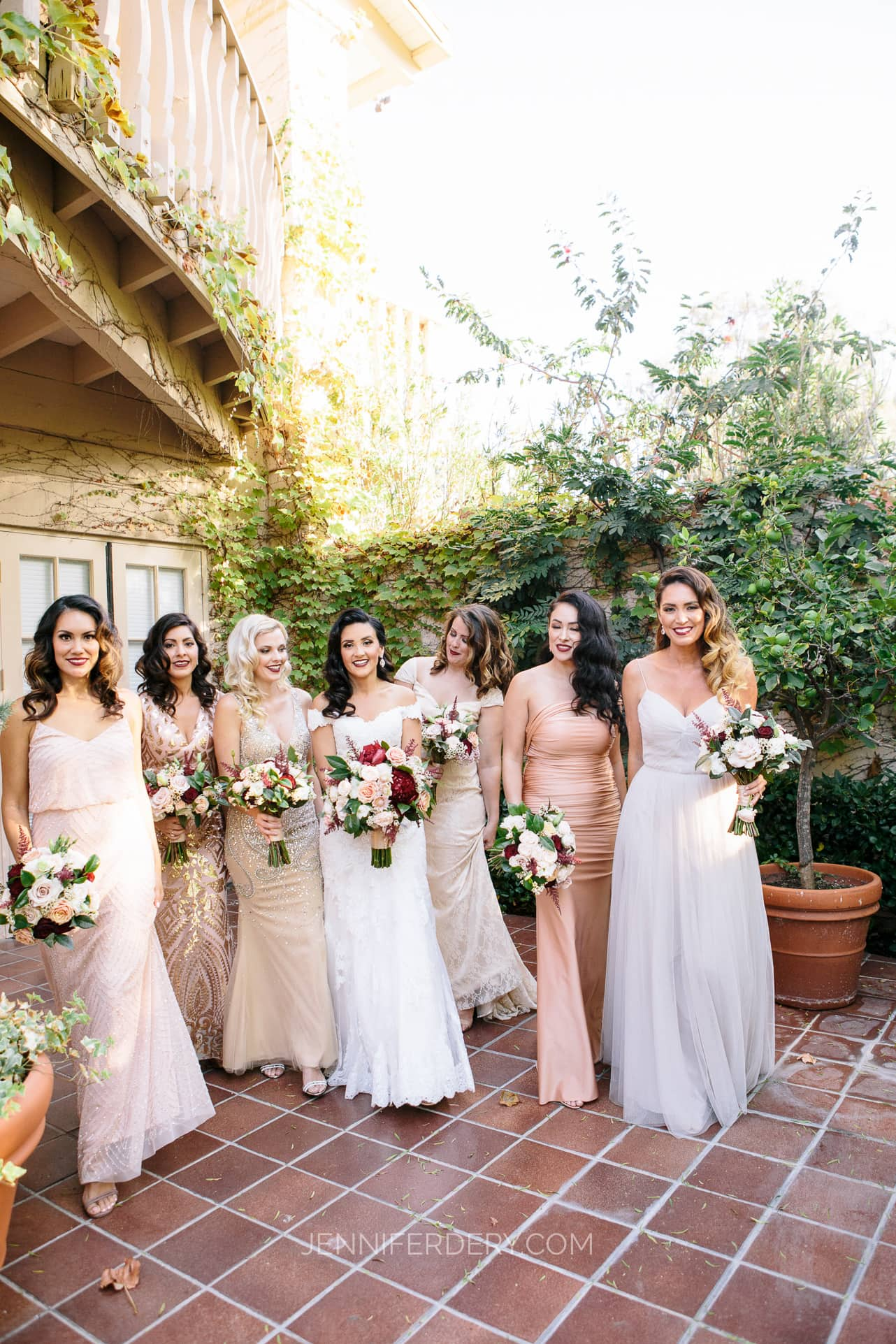 40s Hollywood Spanish-Glam Wedding at Rancho Bernardo Inn